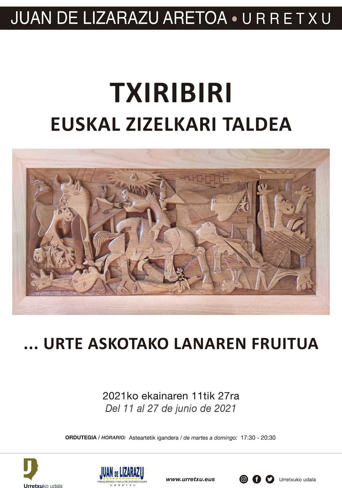 KARTELA_TXIRIBIRI_ERAKUSKETA